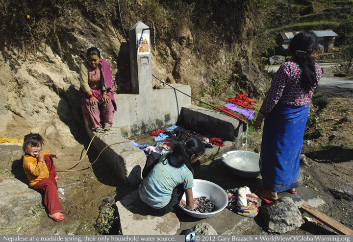 Water And Climate In The Himalayas