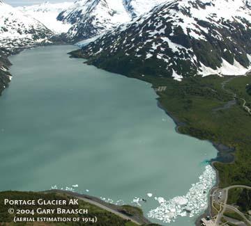 Portage Glacier 2004