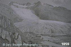Rhone glacier, Bernese Oberland, Switzerland