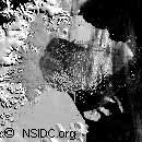 Satelitte photo from NSIDC.org