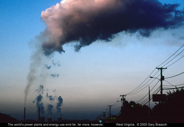 powe plant emissions