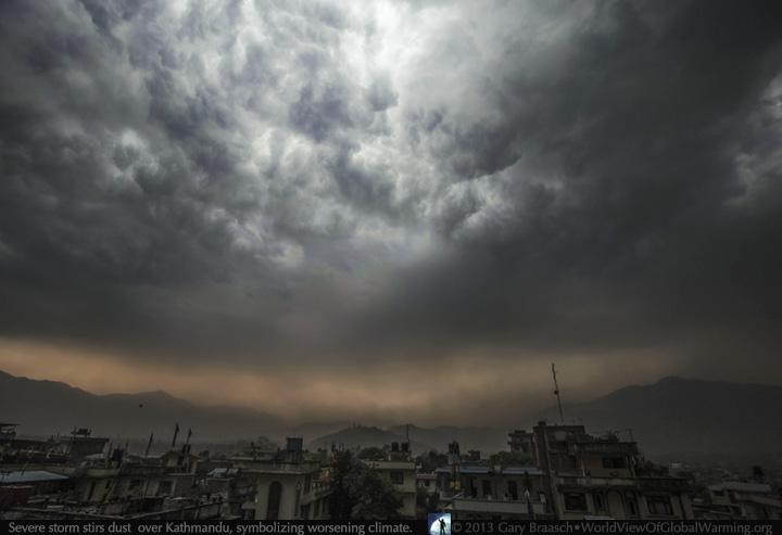 Nepal climate change